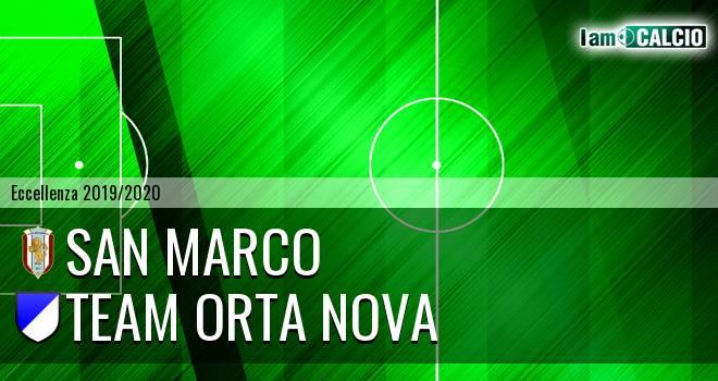 San Marco - Team Orta Nova