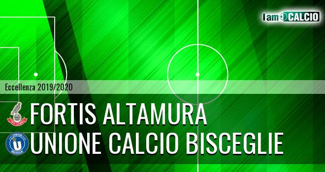 Fortis Altamura - Unione Calcio Bisceglie