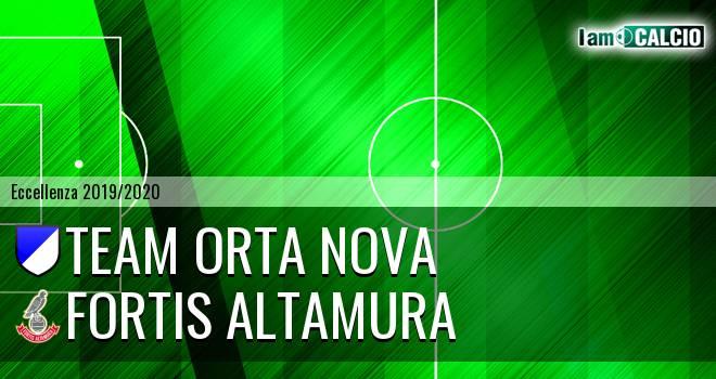 Team Orta Nova - Fortis Altamura