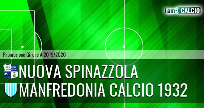 Nuova Spinazzola - Manfredonia Calcio 1932