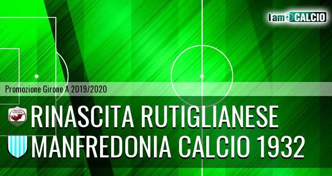 Rinascita Rutiglianese - Manfredonia Calcio 1932