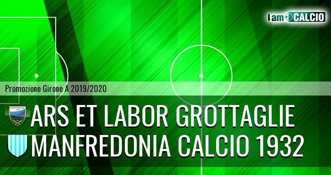 Ars et Labor Grottaglie - Manfredonia Calcio 1932