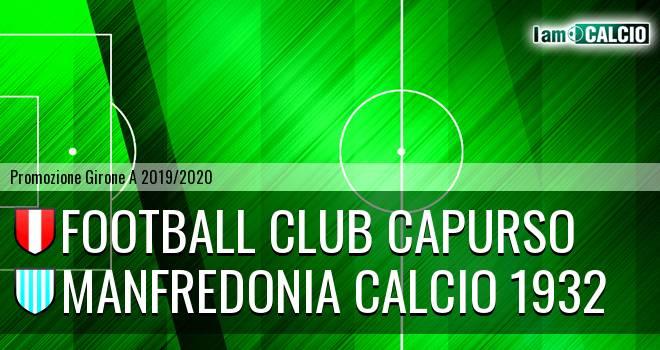 Football Club Capurso - Manfredonia Calcio 1932