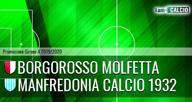 Borgorosso Molfetta - Manfredonia Calcio 1932