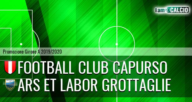 Football Club Capurso - Ars et Labor Grottaglie