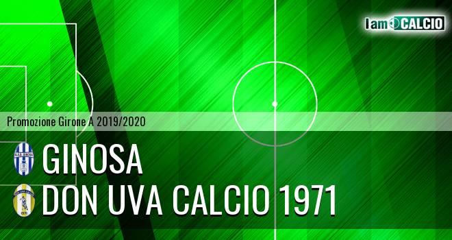 Ginosa - Don Uva Calcio 1971