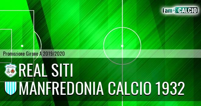 Real Siti - Manfredonia Calcio 1932