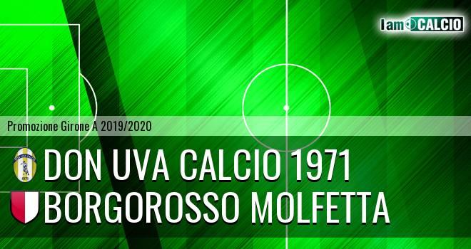 Don Uva Calcio 1971 - Borgorosso Molfetta