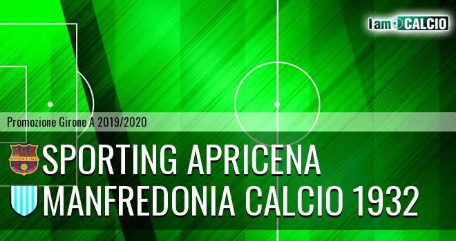 Sporting Apricena - Manfredonia Calcio 1932