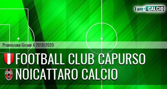 Football Club Capurso - Noicattaro Calcio