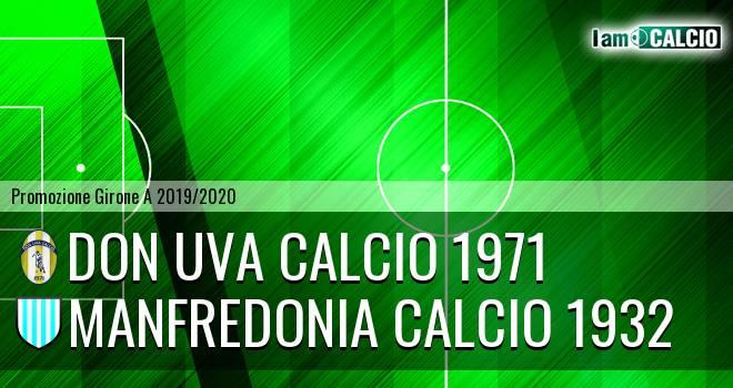 Don Uva Calcio 1971 - Manfredonia Calcio 1932