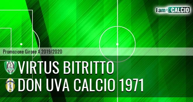 Vigor Bitritto - Don Uva Calcio 1971