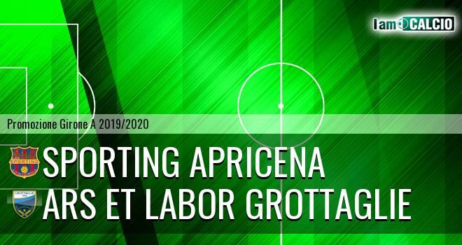 Sporting Apricena - Ars et Labor Grottaglie