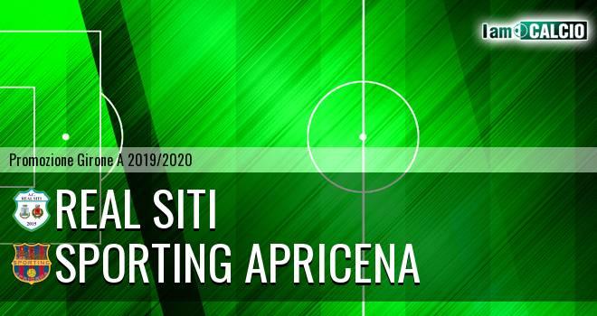 Real Siti - Sporting Apricena