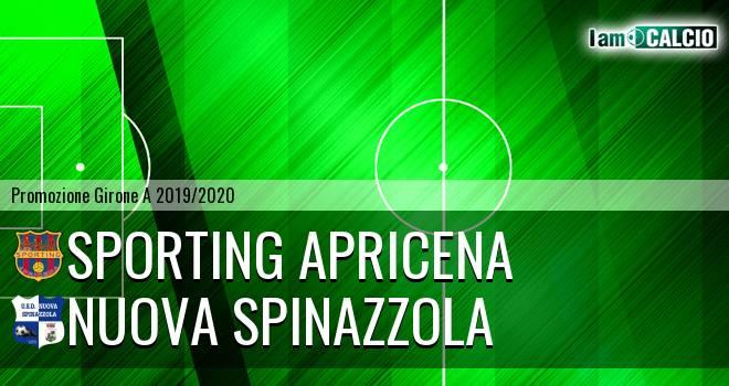 Sporting Apricena - Nuova Spinazzola