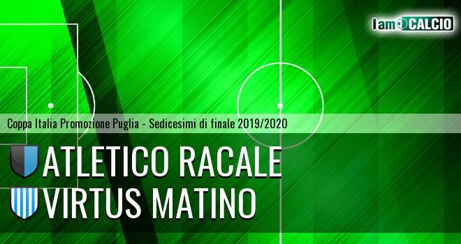 Atletico Racale - Virtus Matino