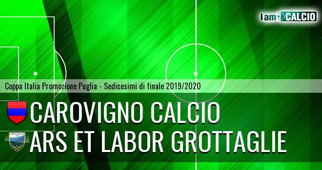 Carovigno Calcio - Ars et Labor Grottaglie