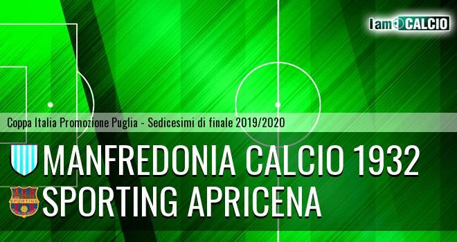 Manfredonia Calcio 1932 - Sporting Apricena