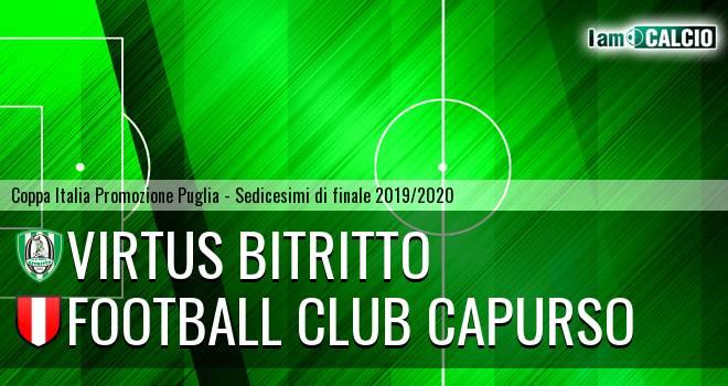 Vigor Bitritto - Football Club Capurso