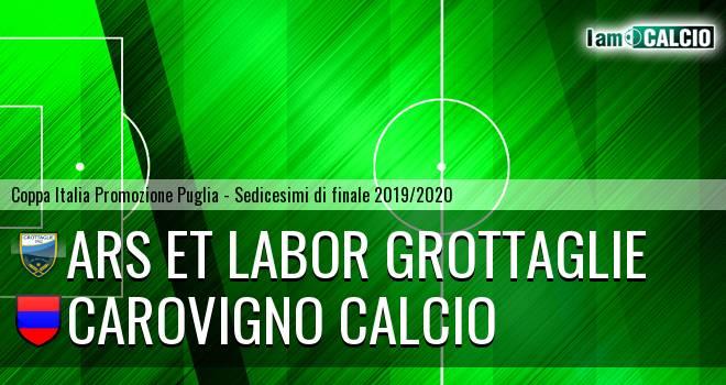 Ars et Labor Grottaglie - Carovigno Calcio