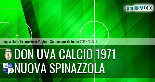 Don Uva Calcio 1971 - Nuova Spinazzola