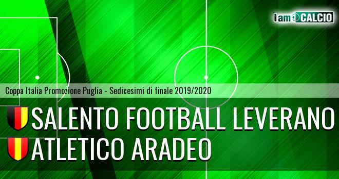 Salento Football Leverano - Atletico Aradeo