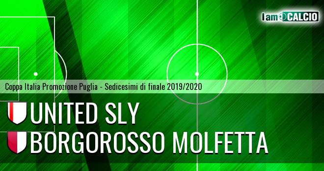 United Sly Trani - Borgorosso Molfetta