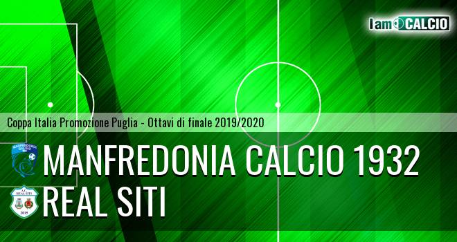 Manfredonia Calcio 1932 - Real Siti