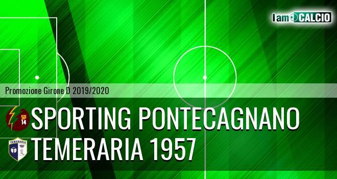 Sporting Pontecagnano - Temeraria 1957