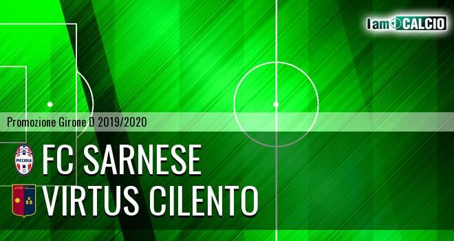 FC Sarnese - Virtus Cilento
