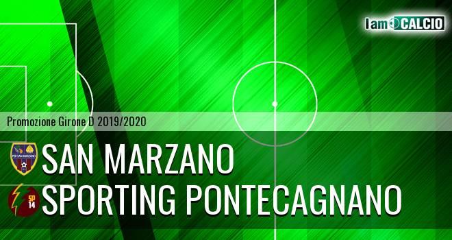 San Marzano - Sporting Pontecagnano