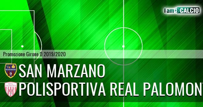 San Marzano - Polisportiva Real Palomonte