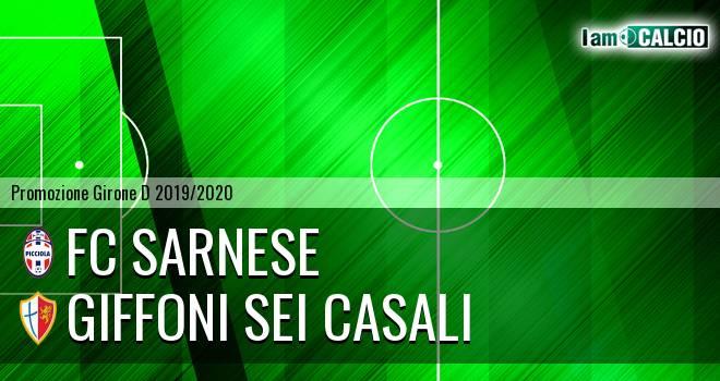 FC Sarnese - Giffoni Sei Casali