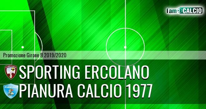 Sporting Ercolano - Pianura Calcio 1977