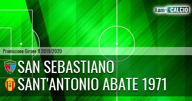 San Sebastiano - Sant'Antonio Abate 1971