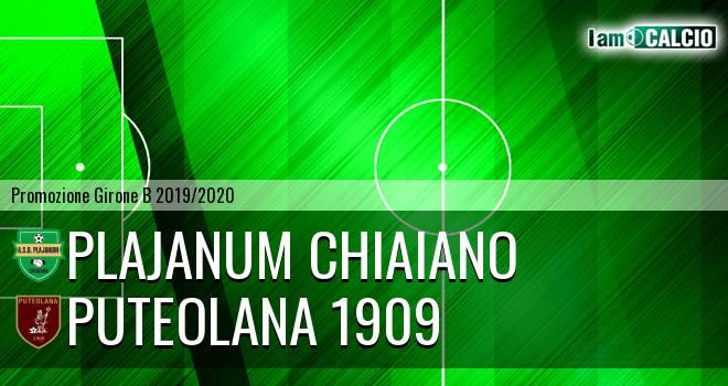 Plajanum Chiaiano - Puteolana 1909