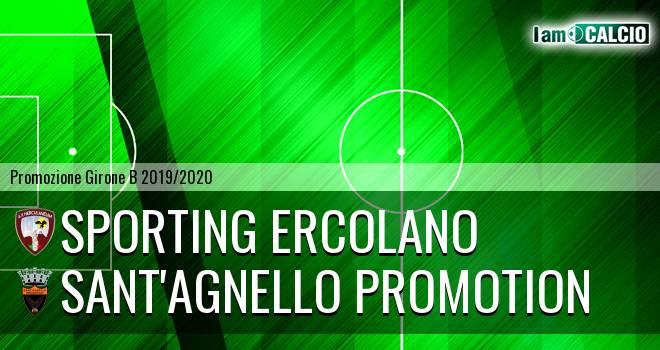 Sporting Ercolano - Sant'Agnello Promotion