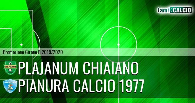 Plajanum Chiaiano - Pianura Calcio 1977