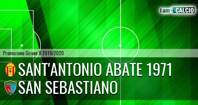 Sant'Antonio Abate 1971 - San Sebastiano