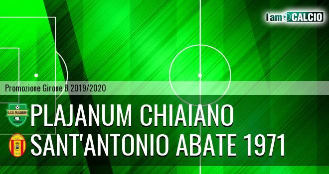 Plajanum Chiaiano - Sant'Antonio Abate 1971