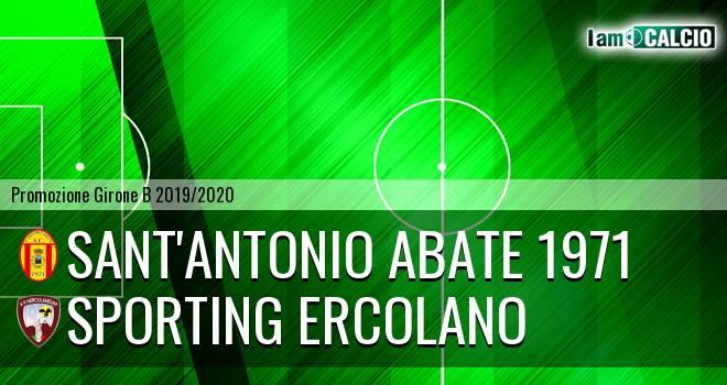Sant'Antonio Abate 1971 - Sporting Ercolano