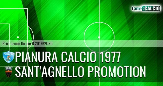 Pianura Calcio 1977 - Sant'Agnello Promotion
