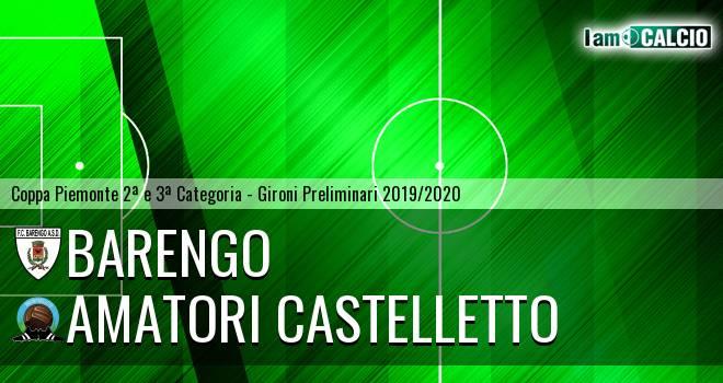 Barengo - Amatori Castelletto