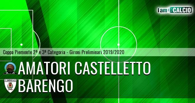 Amatori Castelletto - Barengo