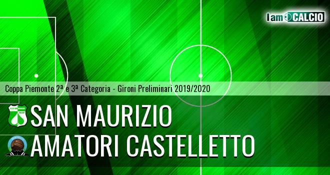 San Maurizio - Amatori Castelletto