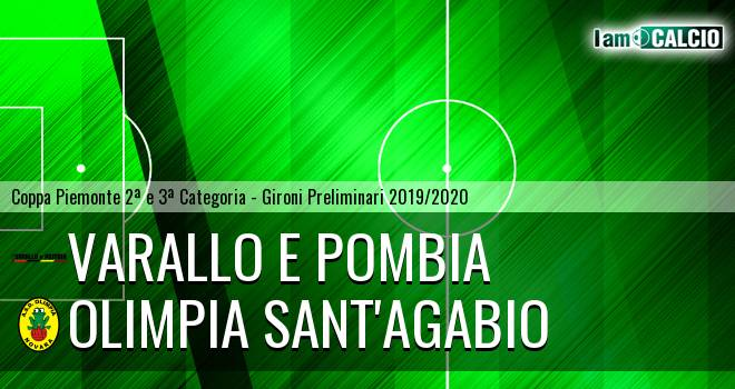 Varallo E Pombia - Olimpia Sant'Agabio