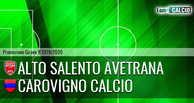 Alto Salento Avetrana - Carovigno Calcio