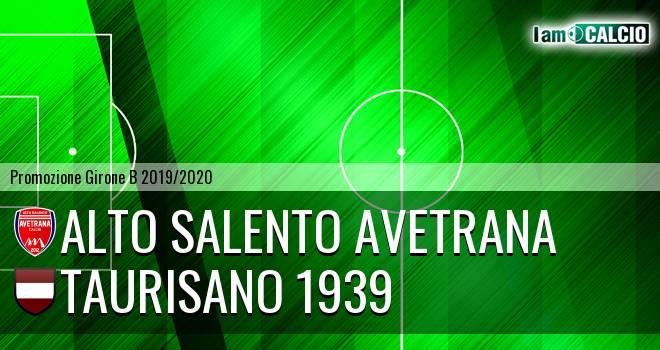Alto Salento Avetrana - Taurisano 1939
