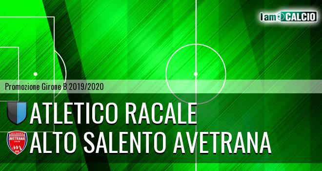 Atletico Racale - Avetrana Calcio