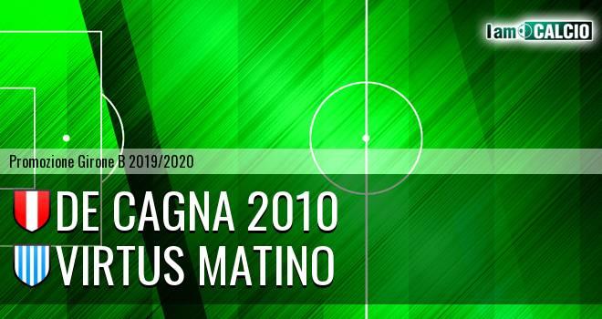 De Cagna 2010 - Virtus Matino